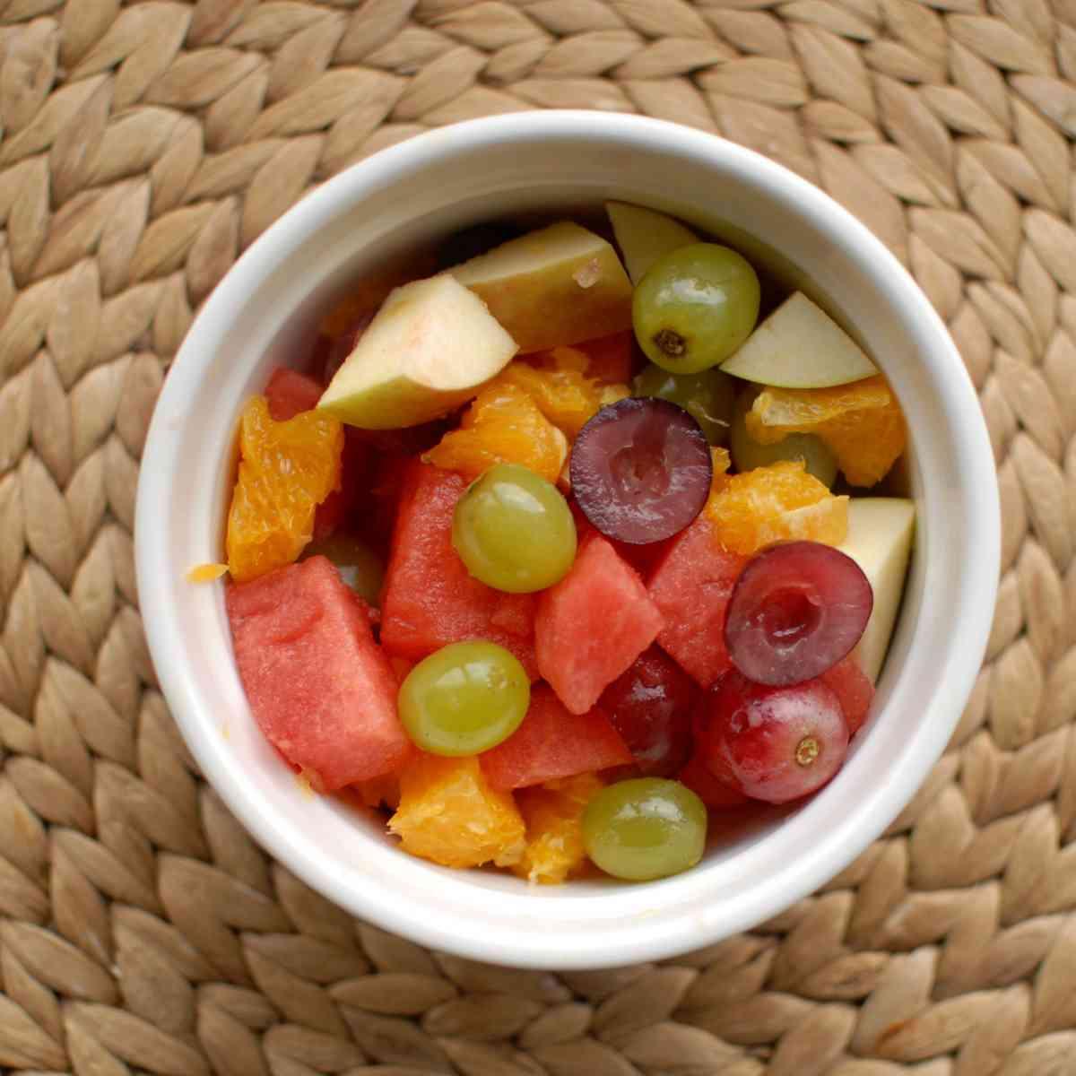 Ovocný salát malý